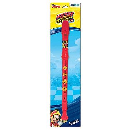 Flauta Doce Infantil Etitoys do Mickey