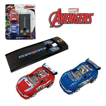 Brinquedos Etitoys Carros Com Lançador Avengers