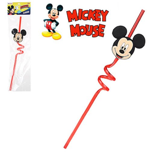 Canudo Infantil Etihome do Mickey