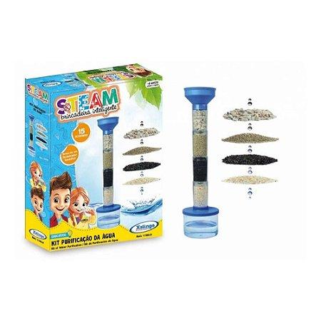 Brinquedo Steam Kit  Purificação de Água