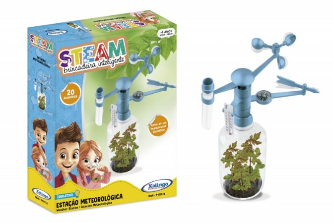 Brinquedo Steam Estação de Meteorológica