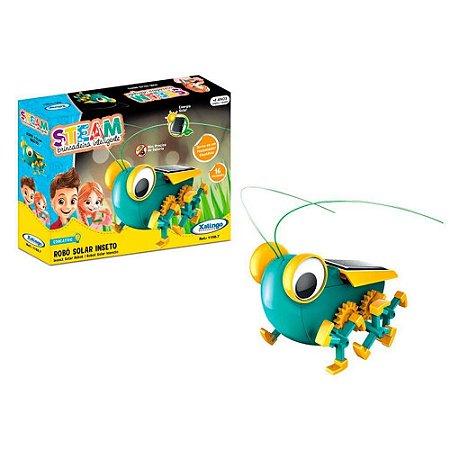 Brinquedo Steam Robo Solar Inseto