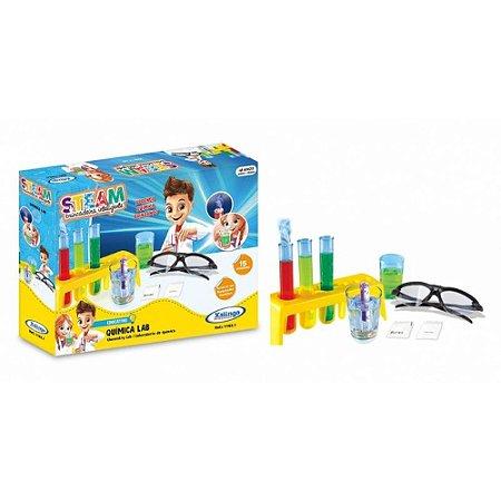 Brinquedo Steam Laboratório de Química