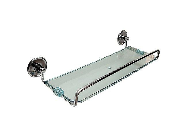 Porta Shampoo Linha Chroma - Steel