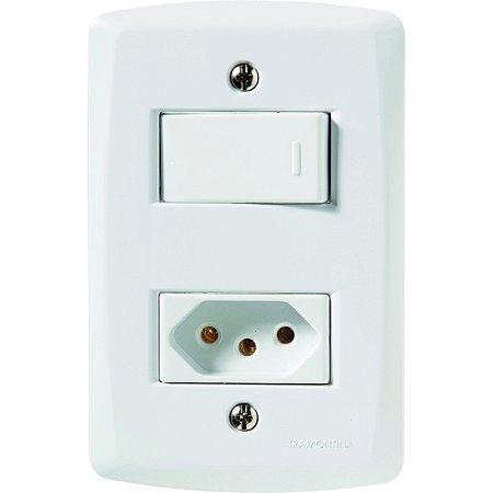 Interruptor Simpls+Tomada 2P+T 20A 250V Br