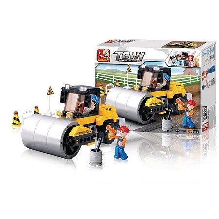 Blocos de Montar Construção Rolo Compressor 171Pçs - Multikids - BR828