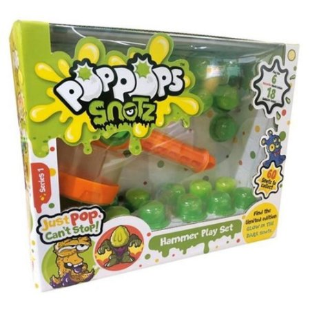 PopPops Slime Monster Multikids 18 Cáps+ 6Monstros
