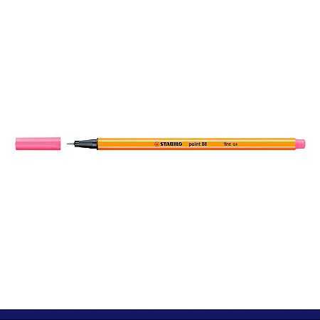 Caneta Stabilo 0,4mm Point 88/29 Rosa Claro