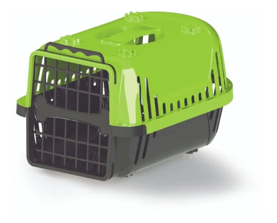 Caixa Transp Powerpets Cães/Gatos Evolution N1 Vd