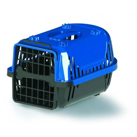 Caixa Transp Pet Injet Cães/Gatos Evolution N3 Az