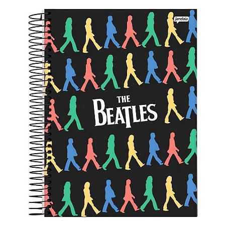 Caderno Universitário 10m 200f Jandaia The Beatles