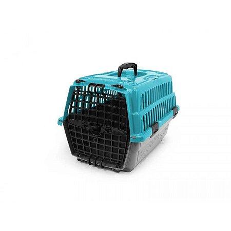 Caixa Transp Cães/Gato Pet Injet N1 Love Travel Az