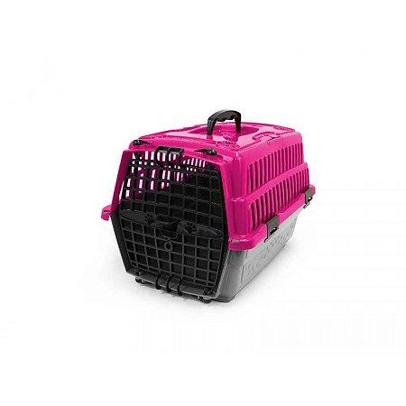 Caixa Transp Cães/Gato Pet Injet N1 Love Travel Rs