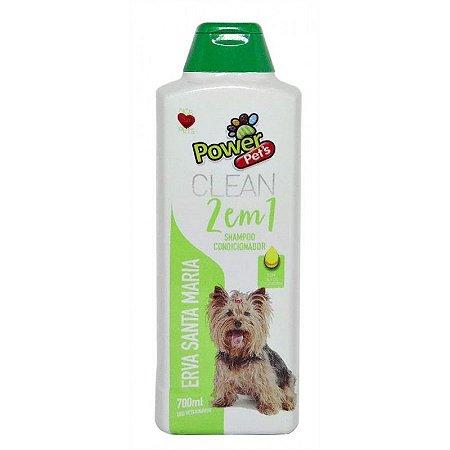 Shampoo/Condic Filhote Power Pets 700ml ervas
