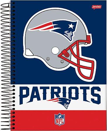 Caderno Universitário 10m 200f Cd Jandaia NFL