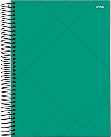 Caderno Universitário 10m 200f Cd Jandaia Stomp
