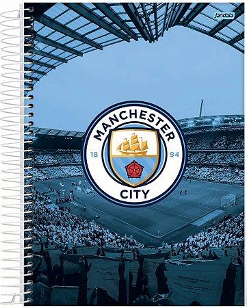 Caderno Univ 10m 200F Jandaia Manchester City