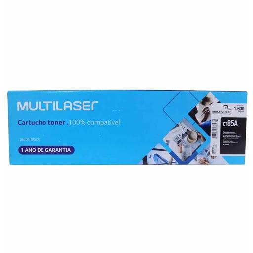 Cartucho Toner Multilaser Preto CT85A