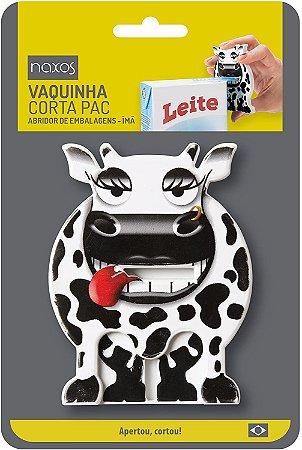 Corta Embalagem Naxos Vaca Vira Imã P/Geladeira