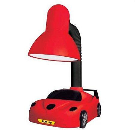 Luminária de Mesa Artc Taschibra 15W Kids Carro Vm