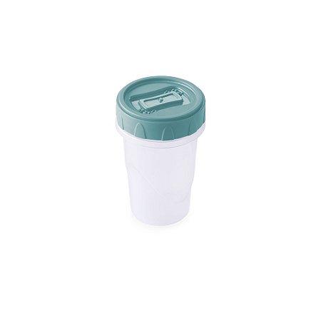 Pote Plástico Plasútil Clic C/Tampa de Rosca 90ml