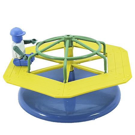 Brinquedo Infantil Timplast Mini Parque Carrossel