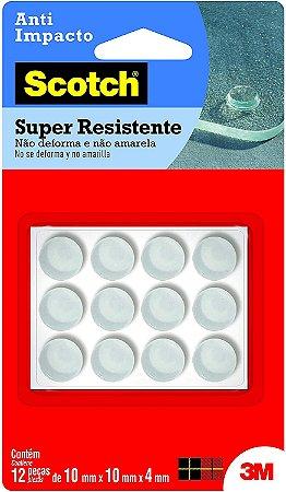 Protetor Anti Impacto 3M Scotch Redondo Médio 10mm