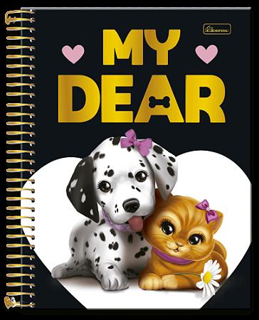 Caderno Universitário 10m 200F Cd Cadersil My Dear