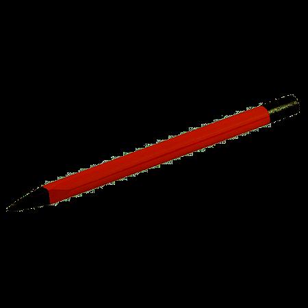 Ponteiro Redondo 8 Polegadas x 16mm Worker