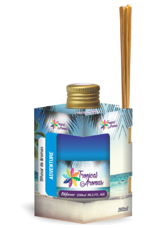 Difusor Tropical Aromas  250ml Adventure