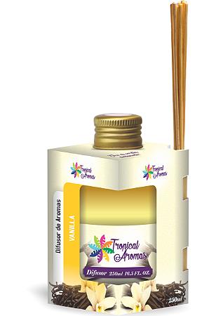 Difusor Tropical Aromas 250ml Vanilla