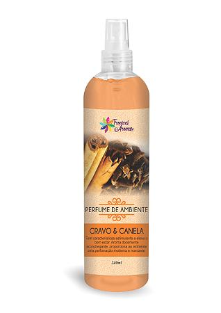 Perfume Ambiente 240ml Tropical Aromas Cra/Canela