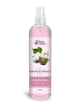 Perfume Ambiente 240ml Tropical Aromas Algodão