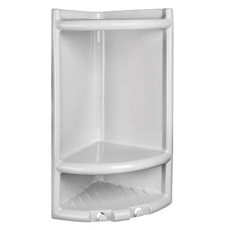 Porta Shampoo Pvc Herc Branco 4010