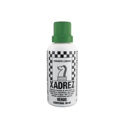 Corante Líquido Xadrez 50ml Verde