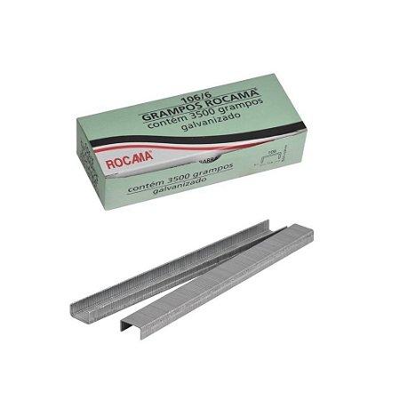 Grampo para Grampeador Tapeceiro Rocama 106/6mm