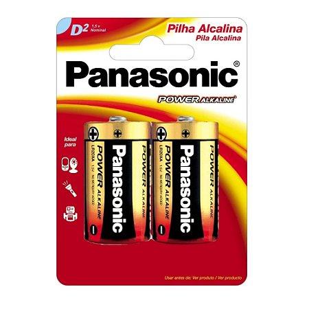 Pilha Alcalina Panasonic Power Gd