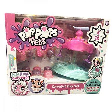 Mini Figuras PopPops Slime Multikids 18 Cáps+6Pets