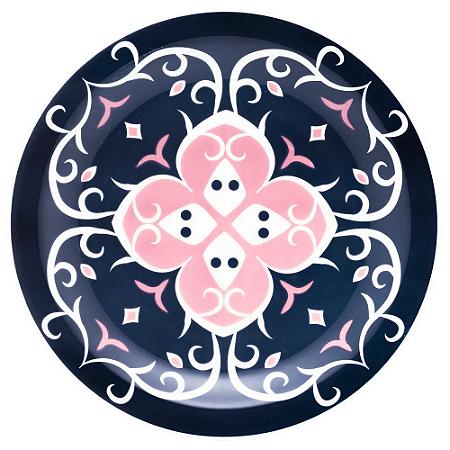Prato Raso de Cerâmica Oxford 26cm Hana