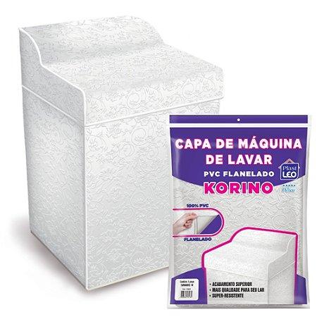 Capa para Máquina de Lavar Flanelada Korino Lisa G