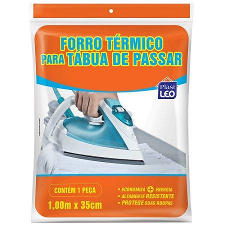 Forro Térmico Tábua de Passar Plast Leo 100x35cm