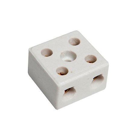 Conector de Porcelana Mister 2 Polos 6mm
