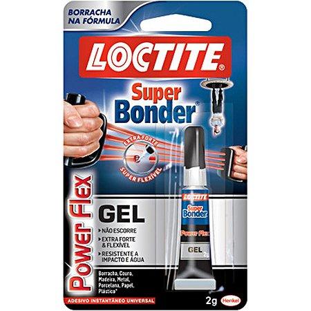 Cola Super Bonder Power Flex Gel 2g Loctite