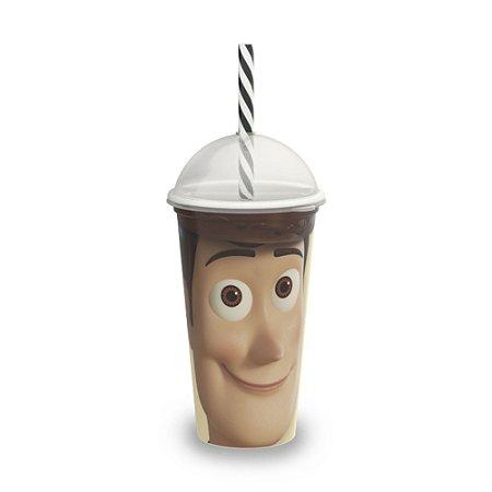Copo Plástico Plasútil 500ml Shake Woody