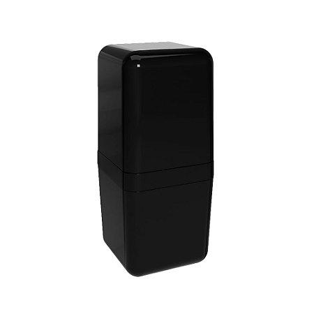 Porta Escovas Coza Cube com Tampa Pt