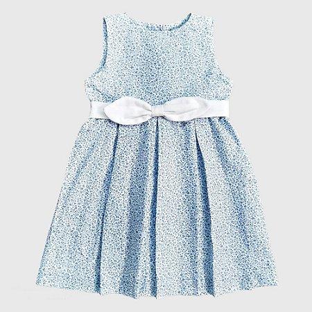 Vestido Doc Kids Sabrina II Floral Azul