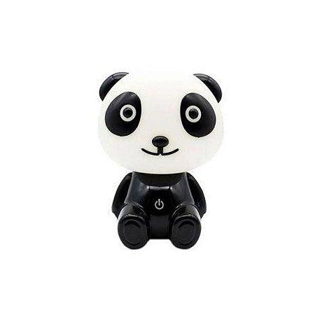 Luminária Panda Rosa 18 Cm - Zona Criativa