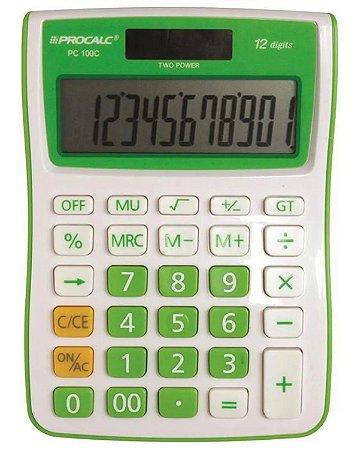 Calculadora Mesa Verde Ref.pc100-gn Procalc