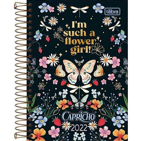Agenda Tilibra 2021 Capricho Cd. 176fls - Tilibra