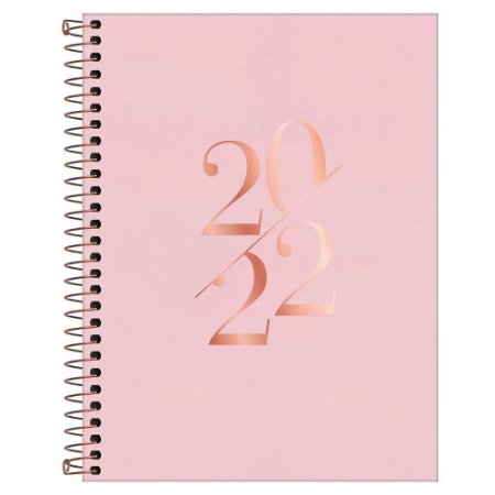 Agenda 2022 Espiral 176 fls Vanilla M7 Tilibra